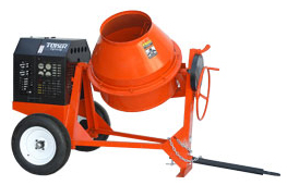 Toker 7, 9 & 12 cu. ft. concrete mixers