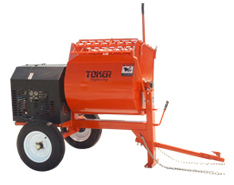 Toker 7, 9 & 12 cu. ft. mortar mixers